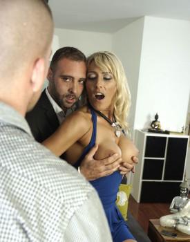 Milf Lana Vegas Stars in an Anal Threesome-3