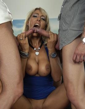Milf Lana Vegas Stars in an Anal Threesome-6