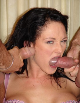 Donna Marie Takes a Massive Facial after Some Hardcore DP Action-5
