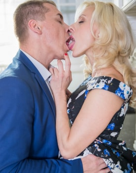 Brittany Bardot, MILF fucked in the kitchen -0