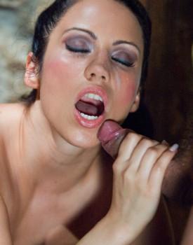 Katarina Treats her Sexual Prisoner to Some Hardcore Anal-9