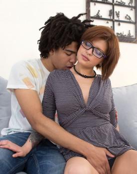 Sexy Teen Tori Fox Takes an Interracial Creampie-0