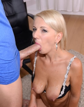 MILF Secretary Luci Angel Fucks Hard-10