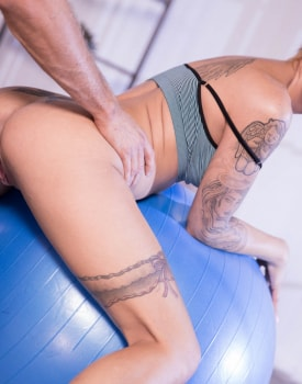 From Yoga to Anal With the Flexible Silvia Dellai -1