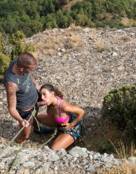 Julia Roca Gets High on Sex In the Mountains-1