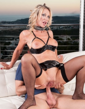 MILF Marina Beaulieu Enjoys Anal While Her Husband Watches-3