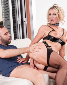 MILF Marina Beaulieu Enjoys Anal While Her Husband Watches-6