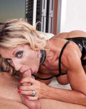 MILF Marina Beaulieu Enjoys Anal While Her Husband Watches-10
