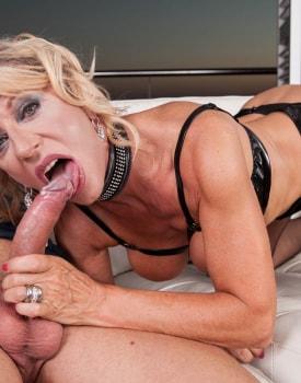 MILF Marina Beaulieu Enjoys Anal While Her Husband Watches-11