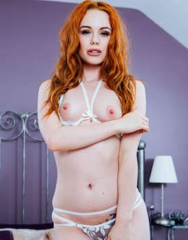 Ella Hughes' Husband Is a Cuckold Devout Who Loves Watching Sperm Spilled Over His Wife's Hairy -1