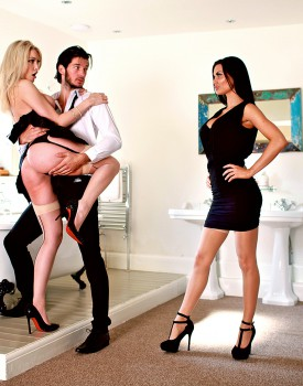 Jasmine Jae & Slutty Maid Tamara Grace Get Off in a Hot Threeway-2