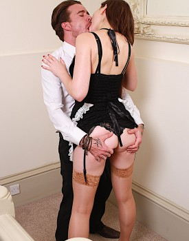 Naughty Maid Tina Kay Gets a Mouthful of Cum-3