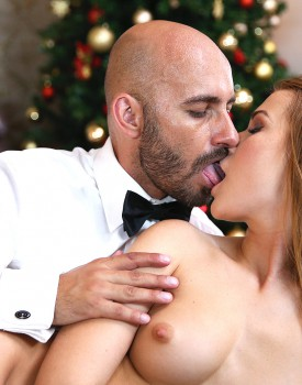 Christmas Cums Early For Alexis Crystal-5
